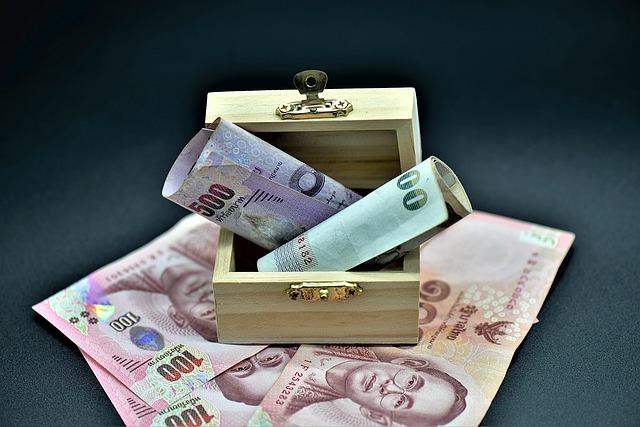 Kasetka na pieniądze jako narzędzie pracy